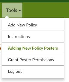 grant poster permissions